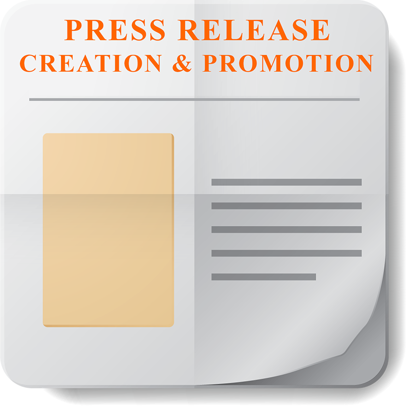 Press Release Creation & Promotion Icon